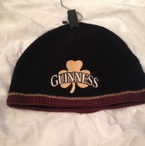 Guinness Hat Knitted Beanie